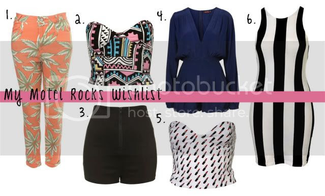 Motel Rocks, Motel Rocks Wishlist, Motel Rocks Style, Motel Rocks Fashion