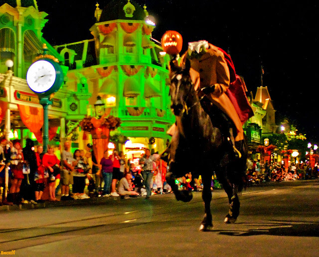 Disney Mickey's Not So Scary Halloween Party Headless Horseman