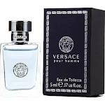 Versace Pour Homme For Men EDT Spray By Versace, 0.17 Oz Mini