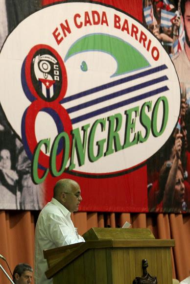 Sesión plenaria del VIII Congreso de los Comité de Defensa de la Revolución. Foto: Ismael Francisco/Cubadebate.