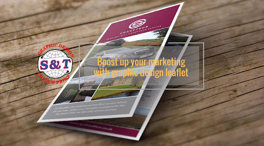 Boost up your marketing with graphic design leaflet | S&T Graphic Design and Colour Print