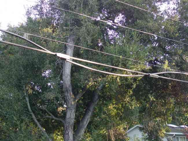 Failing Cable Lashing