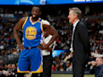Steve Kerr yells the same thing every time Draymond Green shoots a 3 as part of the unusual way he manages the Warriors star