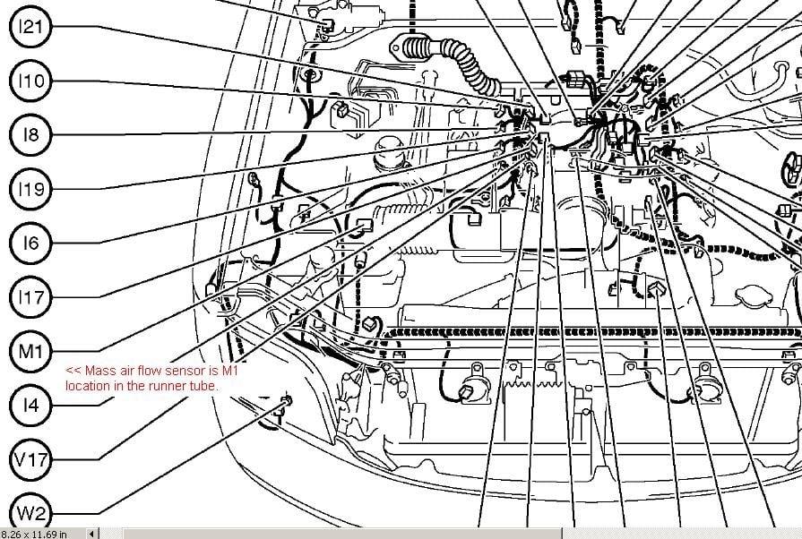 2005 Toyota Tundra Parts Diagram