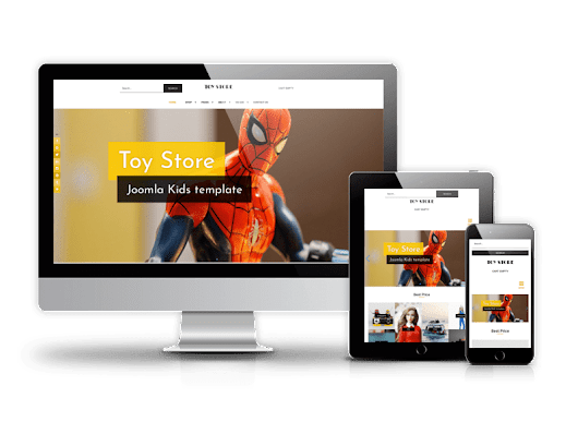 Toy store - Joomla kids template - Demo Download Buy this theme Toy store - Joomla... | ordasoft.com | Joomla, Template, Virtue