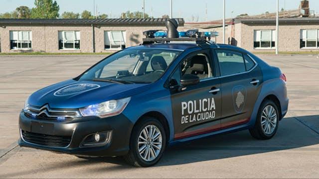 Un vehículo de la nueva Policía de la Ciudad