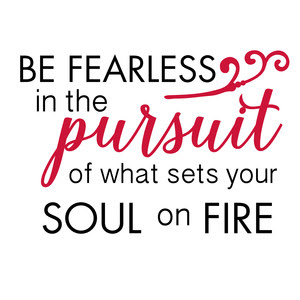 Silhouette Design Store View Design 195586 Be Fearless In The