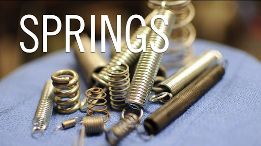 Making Springs At Home - YouTube