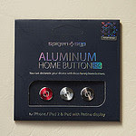 SPIGEN SGP アルミニウム ホームボタン