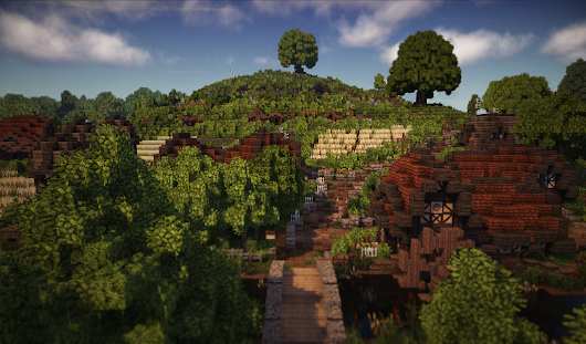 The Shire from Lord of the Rings recreated in Minecraft is amazing