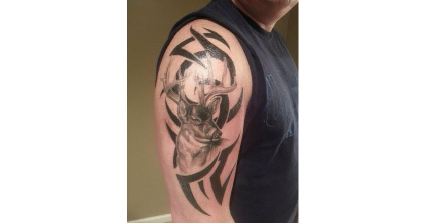 2185aa718 Deer Hunting Tattoo Ideas   15 Unconventional Knowledge About Deer ...