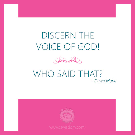 Discerning the Voice of God with Priscilla Shirer