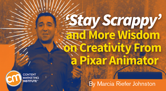 'Stay Scrappy' and More Wisdom on Creativity From a Pixar Animator