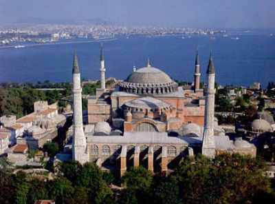 Hagia Sophia West View