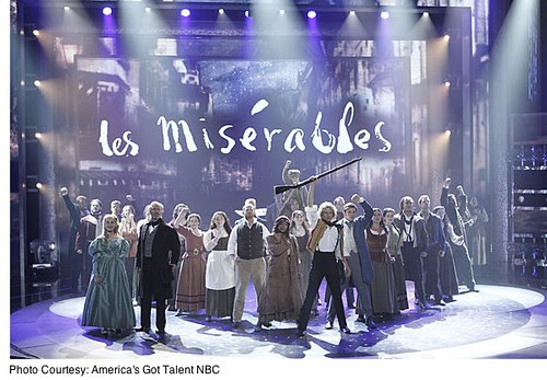 Les Miserables on America's Got Talent by stevegarfield