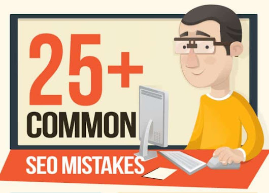 25+ Common SEO Mistakes That Are Killing Your Website[Infographic]