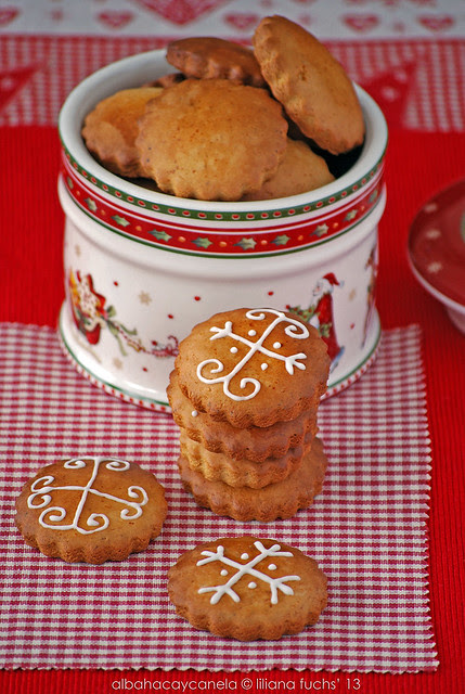 Honey christmas cookies