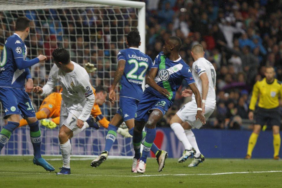 Real Madrid-Wolfsburgo en imágenes