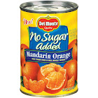 Del Monte No Sugar Added Mandarin Oranges in Water 15 oz