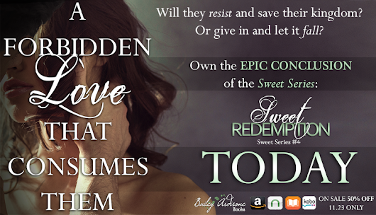 RELEASE DAY BLAST: Sweet Redemption by Bailey Ardisone