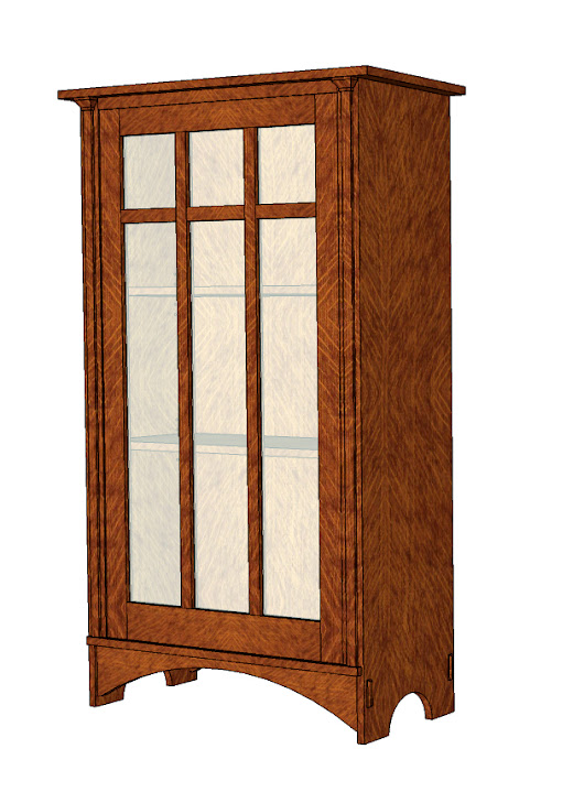 2016 Classes: SketchUp and Stickley Bookcase