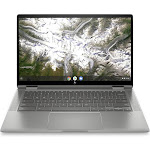 HP 14c-ca0053 Chromebook x360 2-in-1 Core i3-10110U 2.1Ghz 64GB eMMC 8GB BT Chrome Os Webcam Mineral Silver