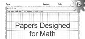 Free Printable Math Papers