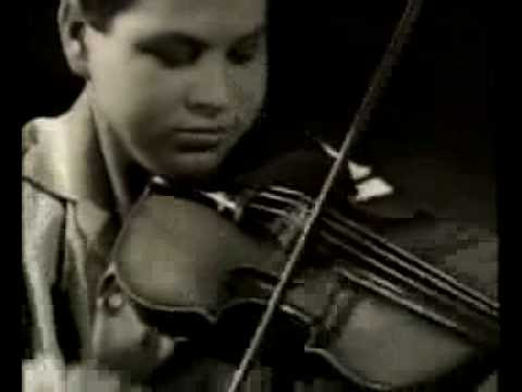 Great Violinists Playing as Kids: Itzhak Perlman, Anne-Sophie Mutter, & More
