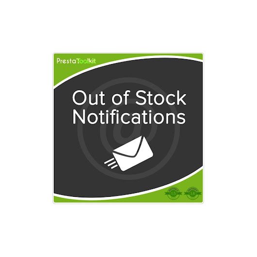 Out of Stock Notification - PrestaShop Addons