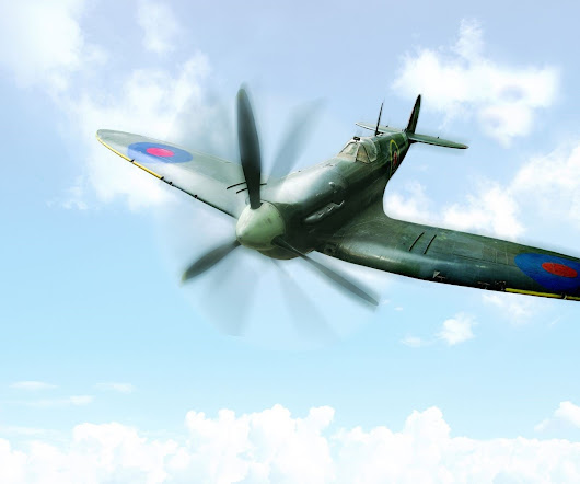 For a Truly Unique and Thrilling Experience, You Can Fly in a Spitfire