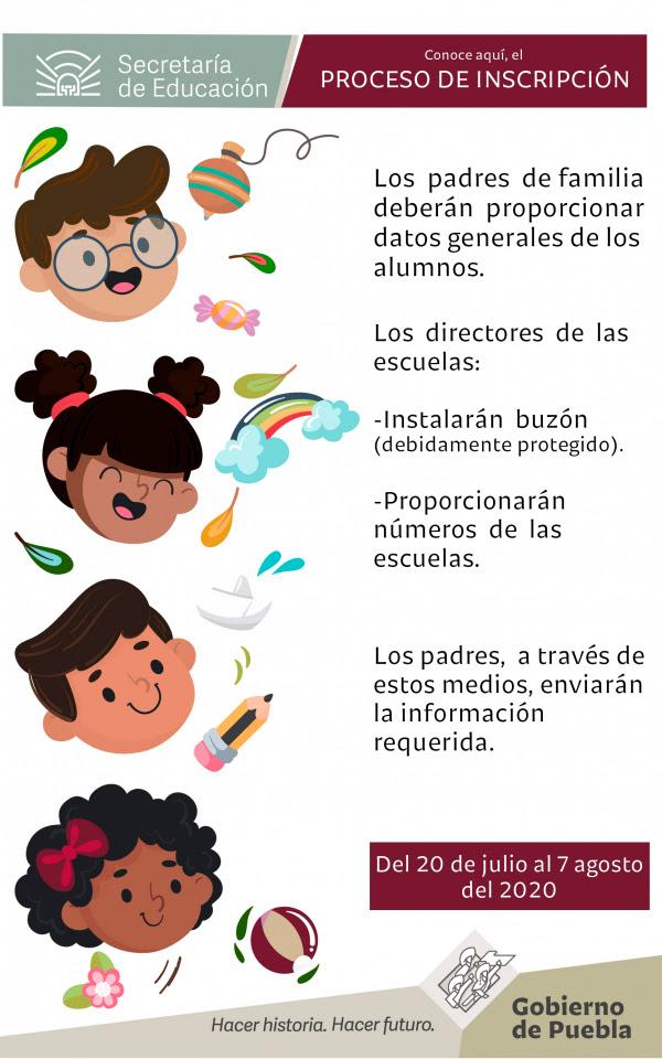 Inicia este lunes 20 de julio el ciclo escolar 2020-2021 en Puebla
