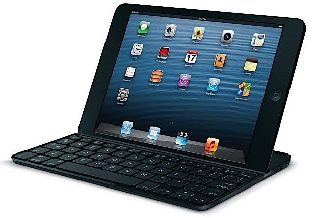 Logitech's Ultrathin keyboard cover brings tactile typing to the iPad mini for $80