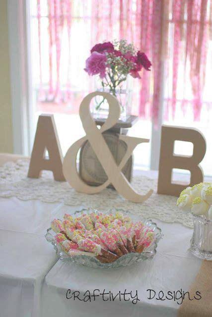 25  best ideas about Bridal shower centerpieces on