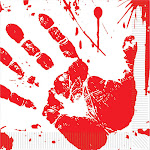 Bloody Handprints Luncheon Napkins (16 Pack) - Party Supplies