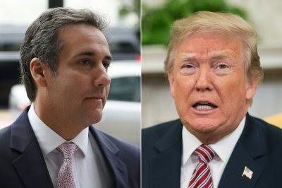 Donald Trump y Michael Cohen.