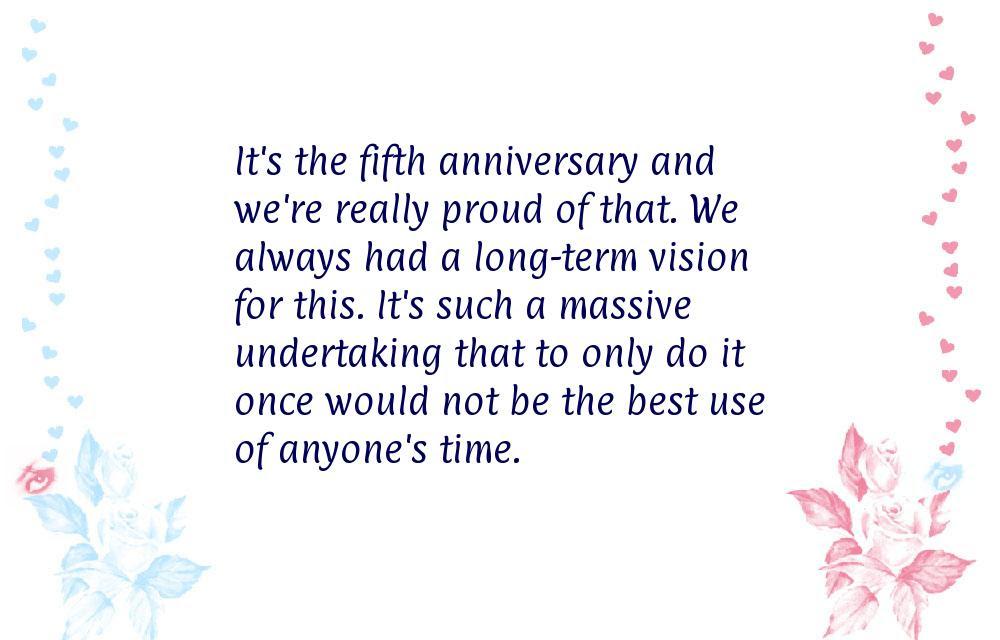 Company Anniversary Quotes