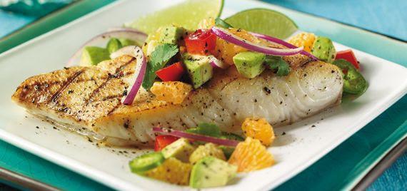 Image result for grilled fish dinner images