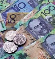 AUSTRALIAN DOLLAR CLOSES LOWER