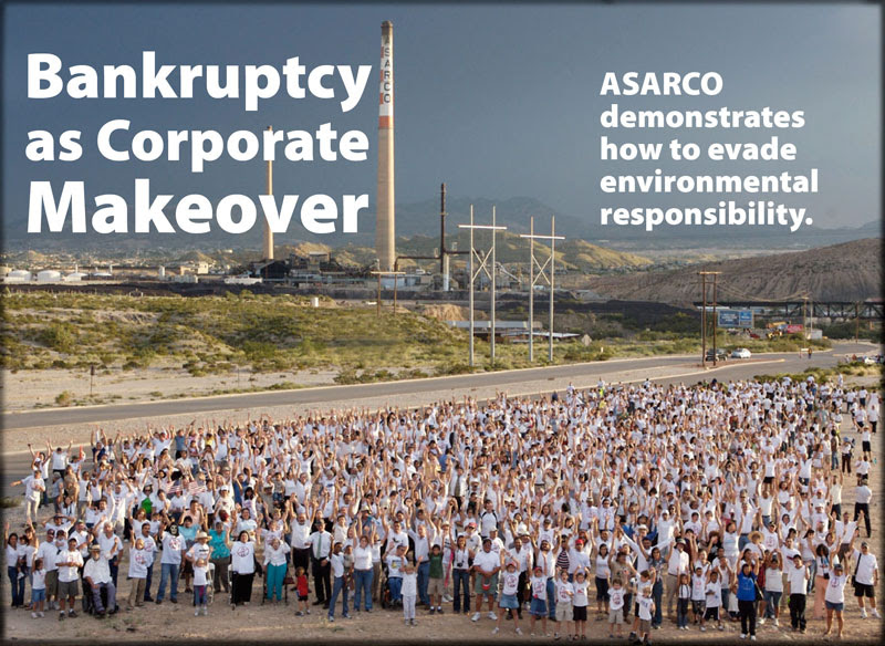 Bankruptcy as Corporate Makeover: ASARCO demonstrates how to evade environmental responsibility., By Mara Kardas-Nelson, Lin Nelson, and Anne Fischel