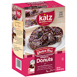 Katz Gluten Free Chocolate Frosted Colored Sprinkle Donuts 10.5 Oz [6 Pack]