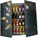 Anthon Berg Selection of Liquor Filled Dark Chocolates, 64 Mini Bottles