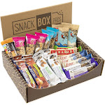 Healthy Snack Bar Box, Nutrition Bars and Gels