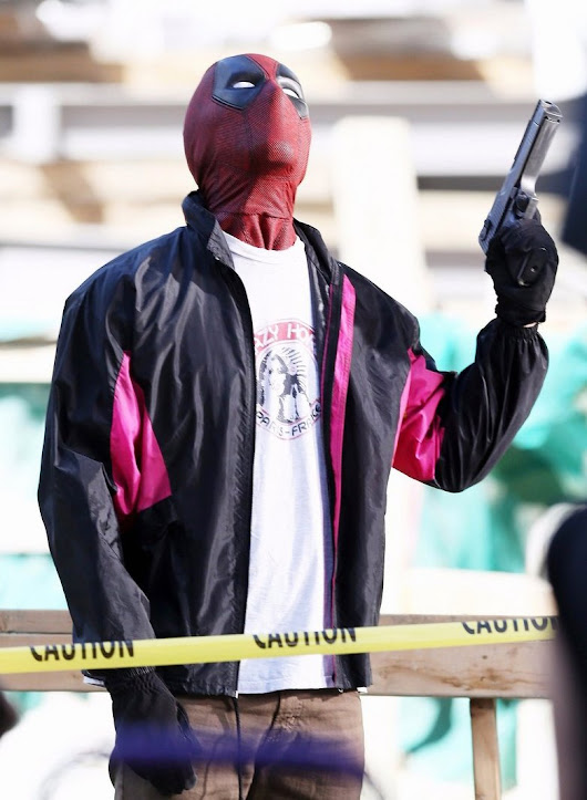 Wields a Gun Deadpool 2 Ryan Reynolds Jacket - New American Jackets