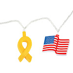 Camco 42657 Flags & Ribbons Party Lights