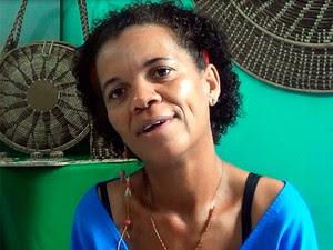 Sandra Matos é uma das líderes da comunidade quilombola de Dandá (Foto: Danutta Rodrigues/G1)