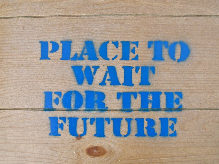 Place to wait for the future