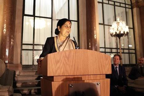 World Hindi Conference: Sushma Swaraj invokes Atal Bihari Vajpayee  #Mauritius #WorldHindiConference...