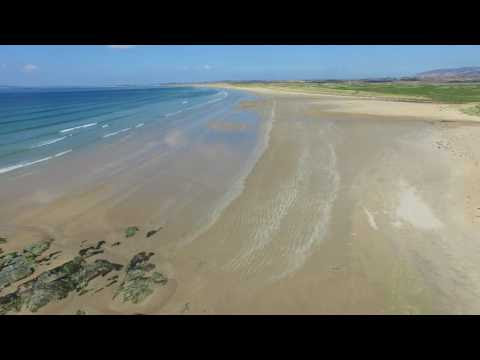 Islay's Big Strand from the air