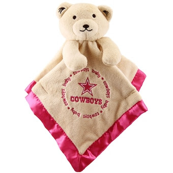 Dallas Cowboys Infant Bear Security Blanket - Pink
