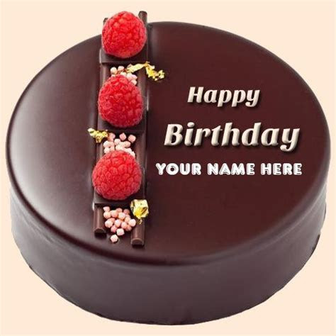 Happy Birthday wishes online with name Cake   First Wishes